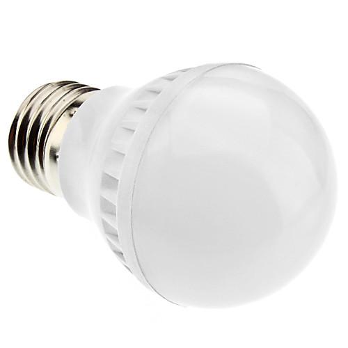 E27 4.5W 370LM 35x5050smd натуральный белый свет привел шарика (220-240V)  257.000
