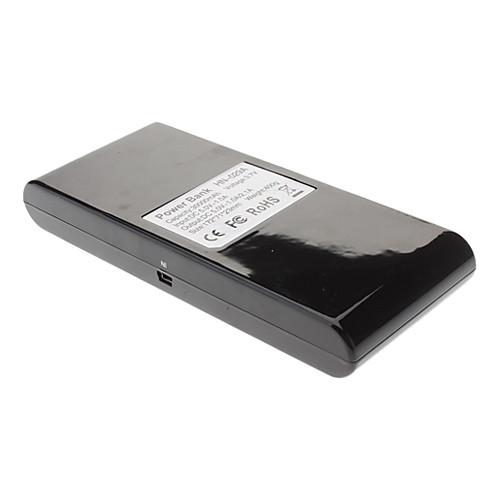 мобильный банк питания внешняя батарея для iphone / Ipad / Samsung smartphonesothers (30000mah)  936.000