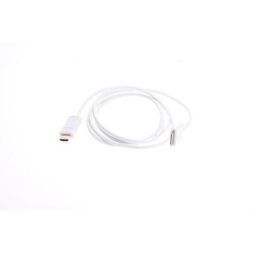 HDMI Женский до 30-контактный Кабель-адаптер для iPhone, IPad и док (Apple 30-контактный, 180 см)  1288.000