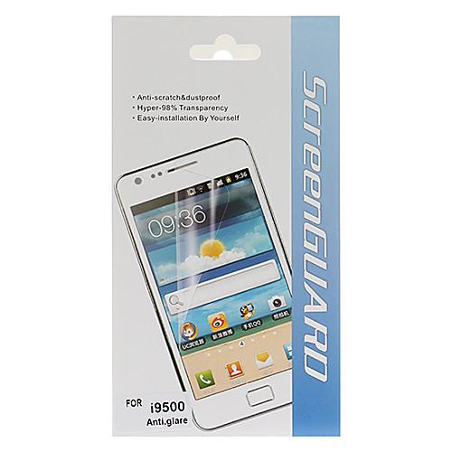 Антибликовый экран протектор с Ткань для очистки для Samsung Galaxy i9500 S4  58.000