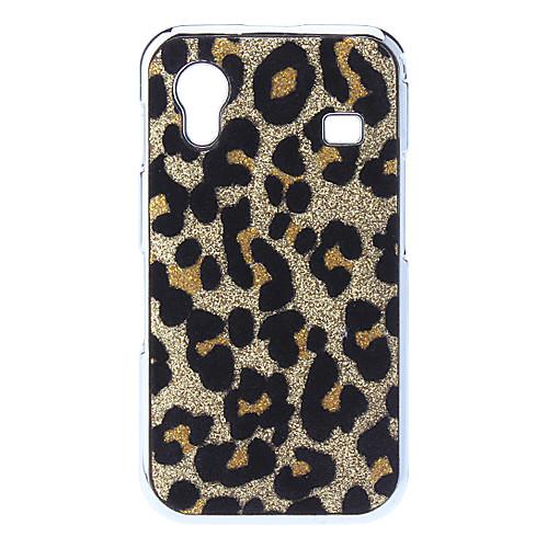 Жесткий чехол на Samsung Galaxy Ace с леопардовым дизайном (разные цвета)  171.000