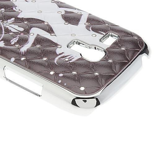 Девушка Pattern Футляр с горный хрусталь для Samsung Galaxy S3 мини-I8190  257.000