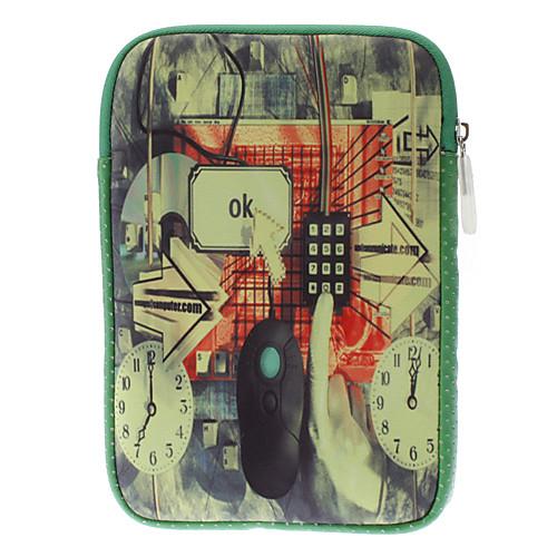информационные технологии стиль шаблон Защитные Мягкий прочный чехлы для IPad Mini / Kindle Fire / Nexus 7  386.000