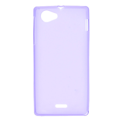 Мягкий чехол для Sony Xperia J ST26i  (разные цвета)  109.000