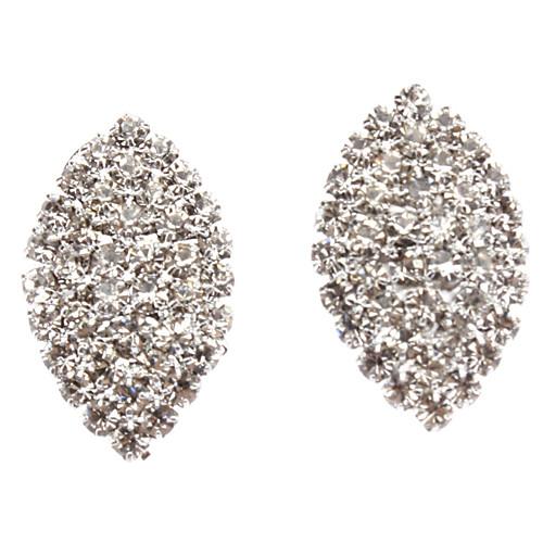 Полный лист алмазные серьги  128.000