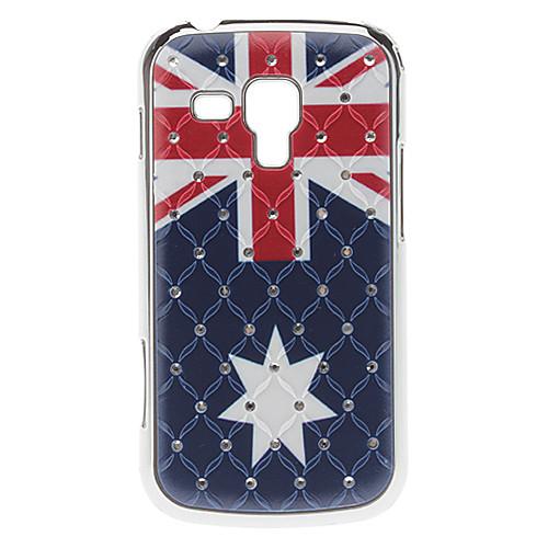 Флаг США Pattern Футляр с горный хрусталь для Samsung Galaxy S3 мини-I8190  257.000