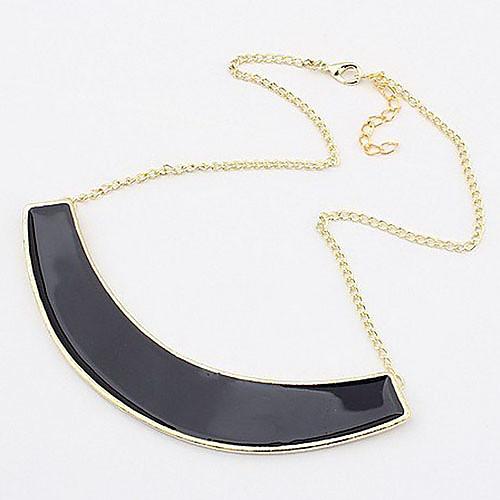 Модное Короткое Полумесяц кулон ожерелье сплава  214.000