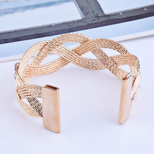 Полоса Вырезают Плетеный манжеты браслет (разных цветов)  85.000