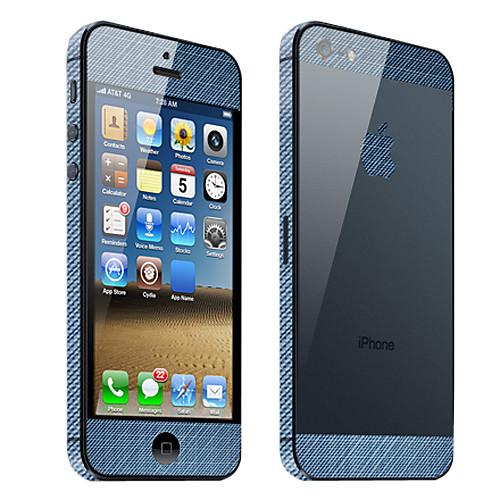 Защитные пленки для iPhone 5 с дизайном джинсовой ткани  171.000