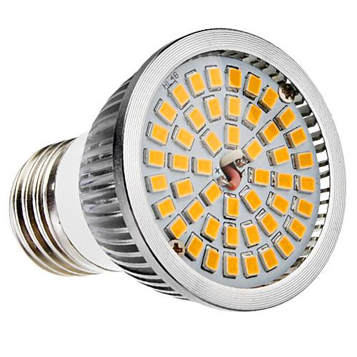 6W 500-600 lm E26/E27 B22 Точечное LED освещение MR16 48 светодиоды SMD 2835 Тёплый белый Холодный белый AC 100-240 В цена