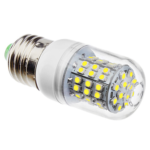 3 W LED Corn Lights 6500 lm E26 / E27 60 LED Beads SMD 3528 Natural White 220-240 V 110-130 V / #
