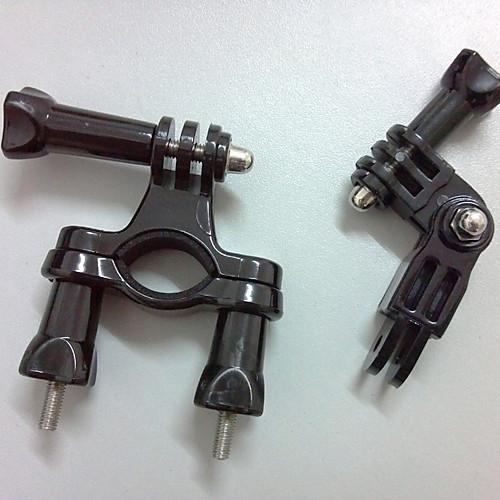 Нержавеющая сталь велосипедов GoPro Ручка / комплект для монтажа труб