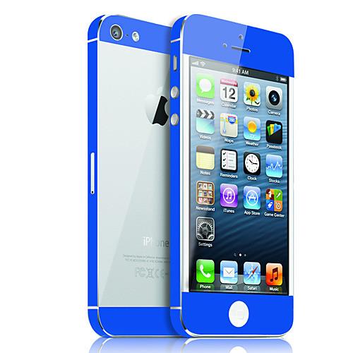 Защитный скин с прозрачной задней панелью для iPhone 5. Цвета в ассортименте  171.000