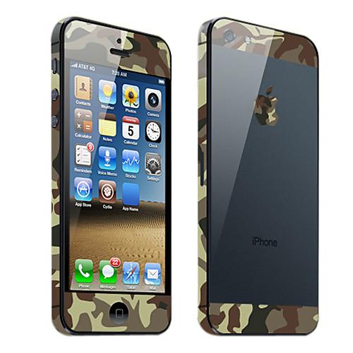 Пленки для iPhone 5 с камуфляжным узором  171.000