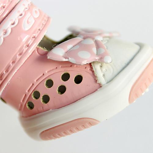 пятно картины бантом стиль нейлон молния лента сандалии для собак (XS-XL, разные цвета)  695.000