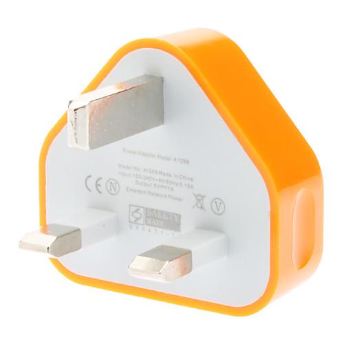 Фото Зарядное устройство для дома / Портативное зарядное устройство Зарядное устройство USB Стандарт Великобритании 1 USB порт 1 A зарядное