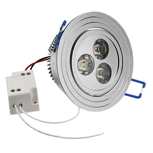 лампа потолочная светодиодная 3W 240-270LM 6000-6500K природного белого света (85-265V)