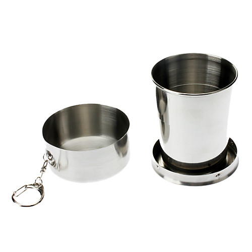 Portable Stainless Steel Telescopic Cup