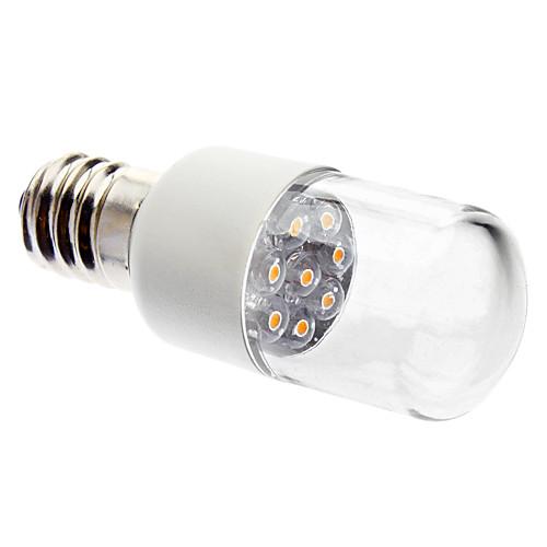 0.5W 50-150lm E14 LED лампы в форме свечи 7 Светодиодные бусины Dip LED Декоративная Тёплый белый 220-240V