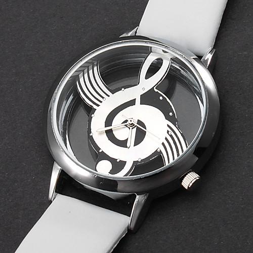 Жен. Модные часы Кварцевый С гравировкой PU Группа Белый от MiniInTheBox.com INT