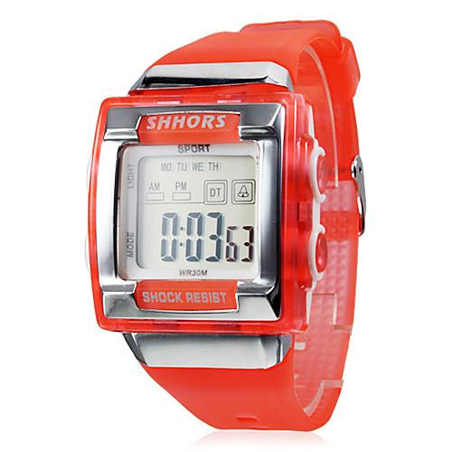 мужские часы спортивные часы ЖК многофункциональный площади набора ударопрочный  214.000