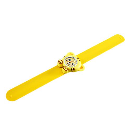 Детская тигра стиль гибкой пластиковой лентой пощечину наручные часы  149.000