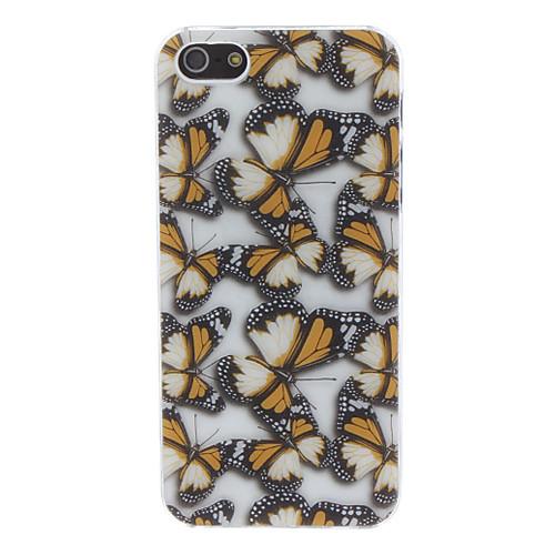 бабочка образца дизайна жесткий футляр для iphone 5/5s (разных цветов)  214.000