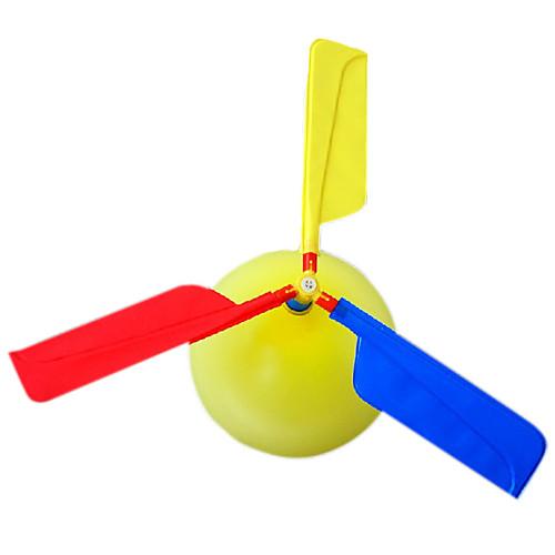 Летающий гаджет Воздушные шары Вертолет Игрушки Вертолет Оригинальные Надувной Для вечеринок пластик Детские Взрослые 1 Куски