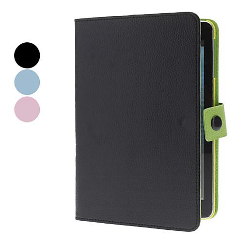 Вращающийся на 360 градусов чехол-подставка с магнитной заклепкой для iPad mini из кожзама (разные цвета)  644.000