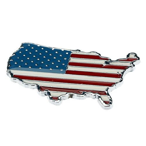 Авто Металл 3D американский флаг значка эмблемы стикера этикеты  171.000