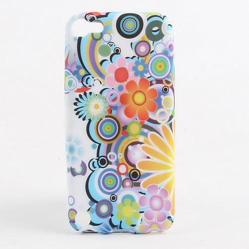 Красочный цветочный узор Мягкие TPU чехол для Ipod Touch 5