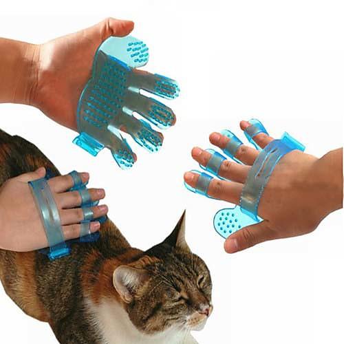 Щетка для мытья собак и кошек в форме ладони  98.000