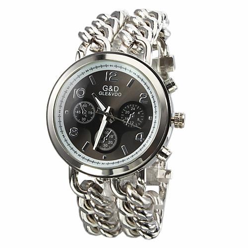Кварцевый мужской серебряный браслет Стальной браслет Часы (разных цветов)  816.000