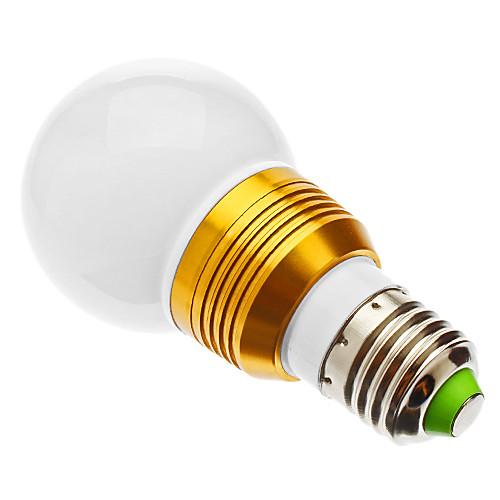 5W E26/E27 Круглые LED лампы G60 1 lm RGB На пульте управления AC 85-265 V от MiniInTheBox.com INT