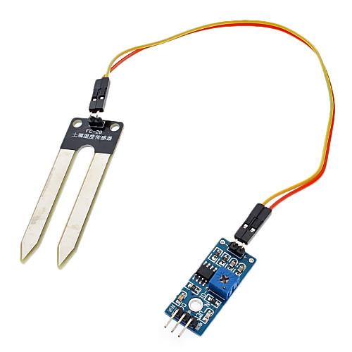 FC-28-D почвы гигрометр Модуль детектора Датчик влажности почвы - синий