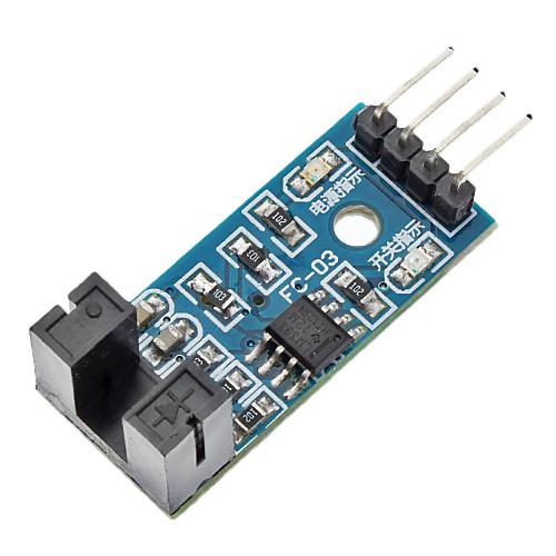 LM393 компаратор модуль датчик скорости для (для Arduino)-синий (работает с официальными (для Arduino) плат)