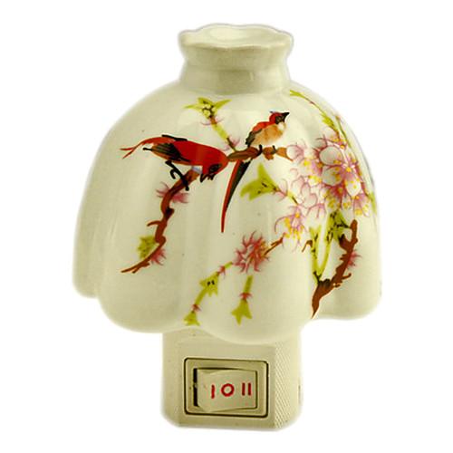 Птицы Цветы форму зонтика свет ночи СИД (110-240V)