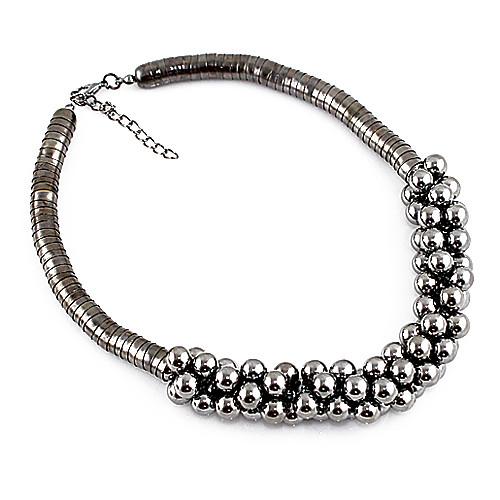 Жен. Ожерелья-бархатки - Мода Серебряный Ожерелье Бижутерия Назначение Для вечеринок, Повседневные