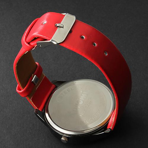 Жен. Модные часы Кварцевый Повседневные часы PU Группа Мультяшная тематика Черный Белый Красный от MiniInTheBox.com INT