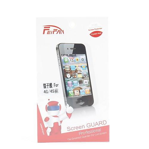 царапин зеркало экрана протектор с салфеткой для iphone 4 и 4S  85.000