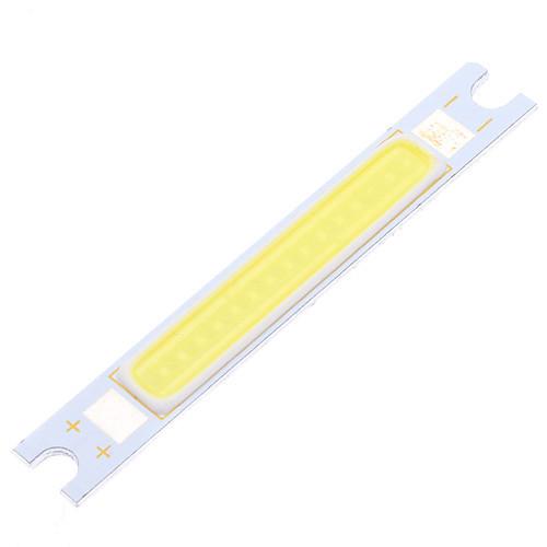 5W 6000K 900LM COB Холодный белый полосы света (DC 9-11В)