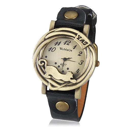 Муж. Кварцевый Модные часы Горячая распродажа PU Группа