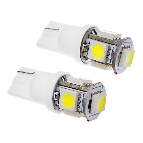 SO.K 2pcs T10 Автомобиль Лампы SMD 5050 100-120lm Лампа поворотного сигнала For Универсальный цена