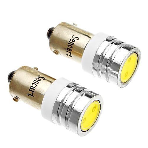 2pcs BA9S Автомобиль Лампы 1W Светодиодная лампа Внешние осветительные приборы For Универсальный цена