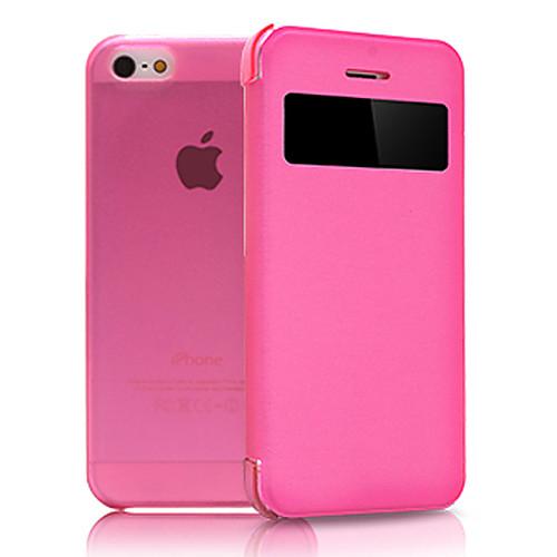 Складной кожаный чехол для IPhone 5C (разные цвета) от MiniInTheBox.com INT