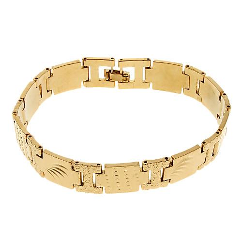 Miniinthebox Мужская Золотой Резные широкий браслет 143 826232 - Молл #1