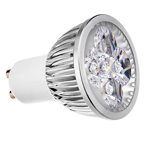 4 Вт. 400 lm GU10 Точечное LED освещение MR16 4 светодиоды Холодный белый AC 220-240V