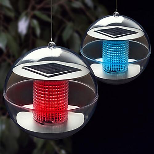 Светильник ночной светодиодный в форме шара на солнечной батарее