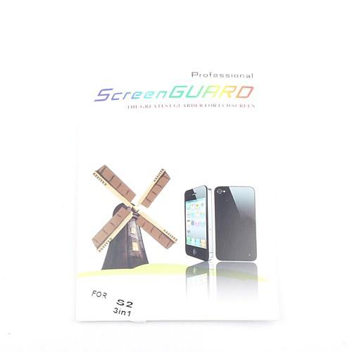 3x ясный протектор экрана фронт для Samsung Galaxy S2 i9100  85.000