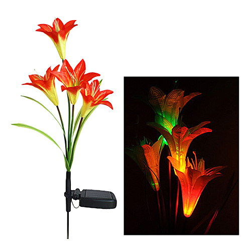 RGB Color Изменение солнечной светодиодные Flower Garden (СНГ-A2807)